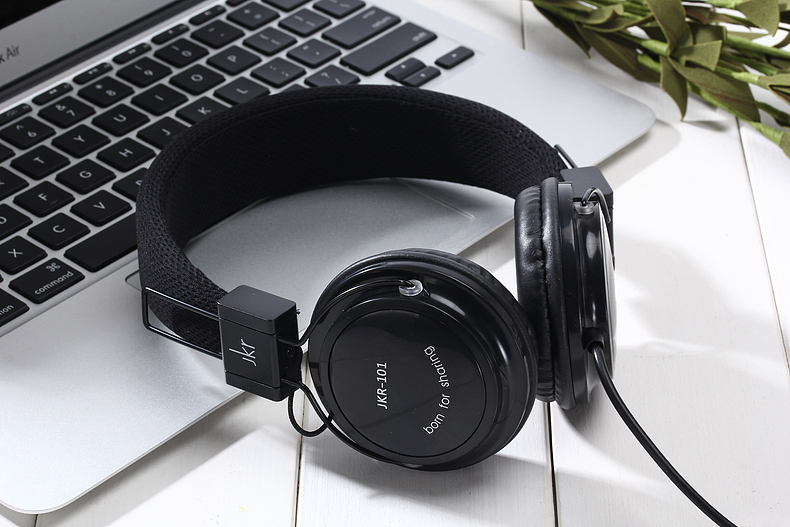 3.5mm Wired Headphone headphones Gaming Headset Earphone For PC Laptop Computer Mobile Phone JKR101