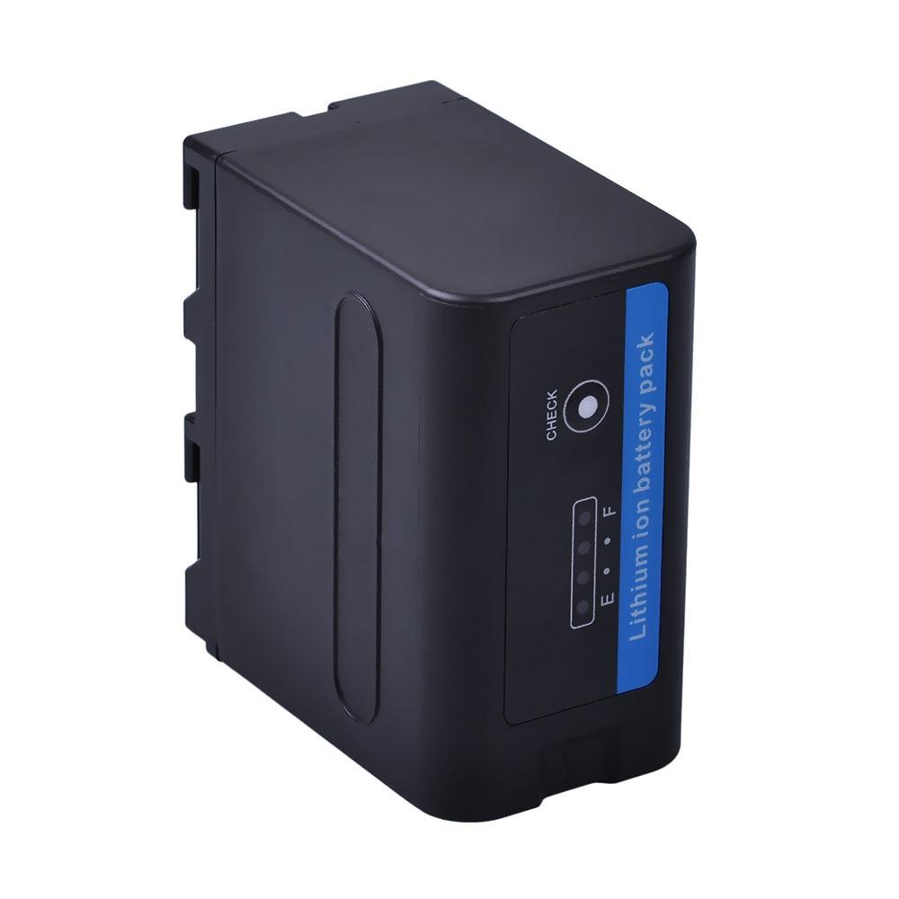 2x7200 mAh NP-F970 NP-F960 NP F970 Batteries avec alimentation LED Indicateur + LCD Chargeur Rapide pour SONY HVR-HD1000 HVR-HD1000E HVR-V1J - 3