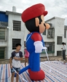 210D Oxford fabric factory directly supplier for advertising inflatable super mario