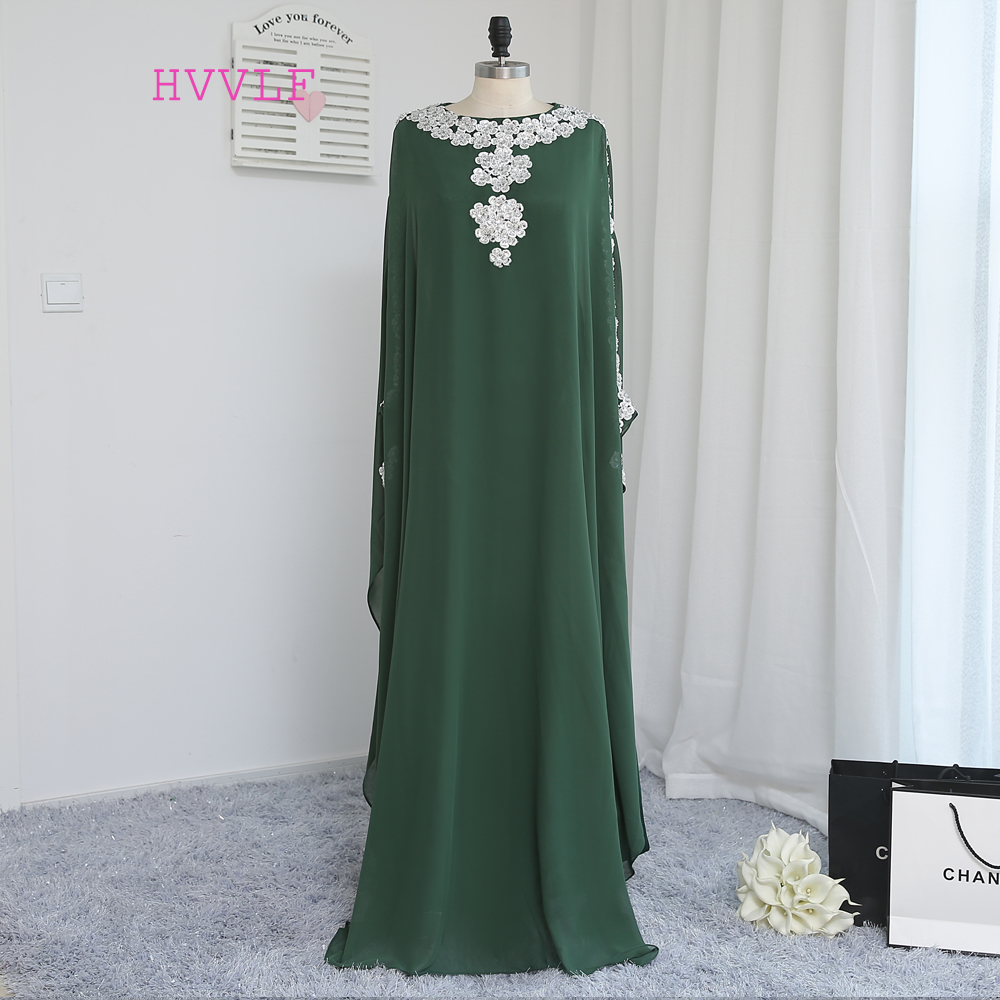 2019 Muslim   Evening     Dresses   Islamic Dubai Abaya Kaftan Long   Evening   Gown Prom   Dress