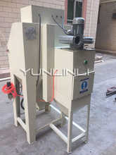 Sand Blasting Machine Manual Type Electric Sandblaster Metal Mould Descaling Surface Treatment CJ6050