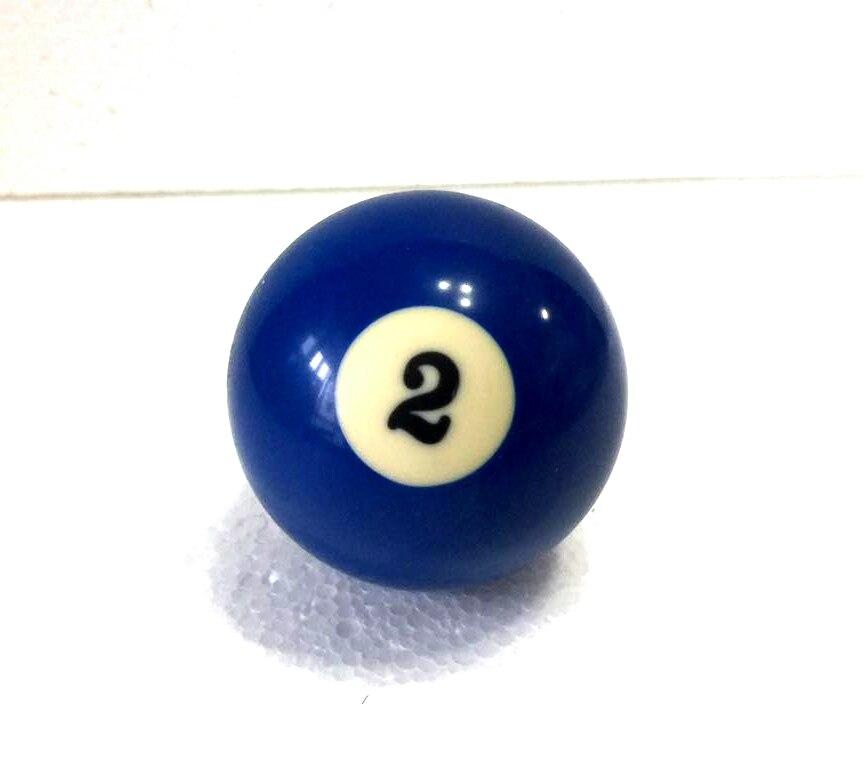 Envío libre 1 unids n° 2 piscina billar Billard cue n° 2 bola 2-1 4 57.2mm 42d6d50957fd7