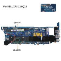 KoCoQin Laptop motherboard For DELL XPS 12 9Q23 Core I7 3537U 8G RAM Mainboard 0644PF CN 0644PF QAZA0 LA 8821P SR0XG CPU