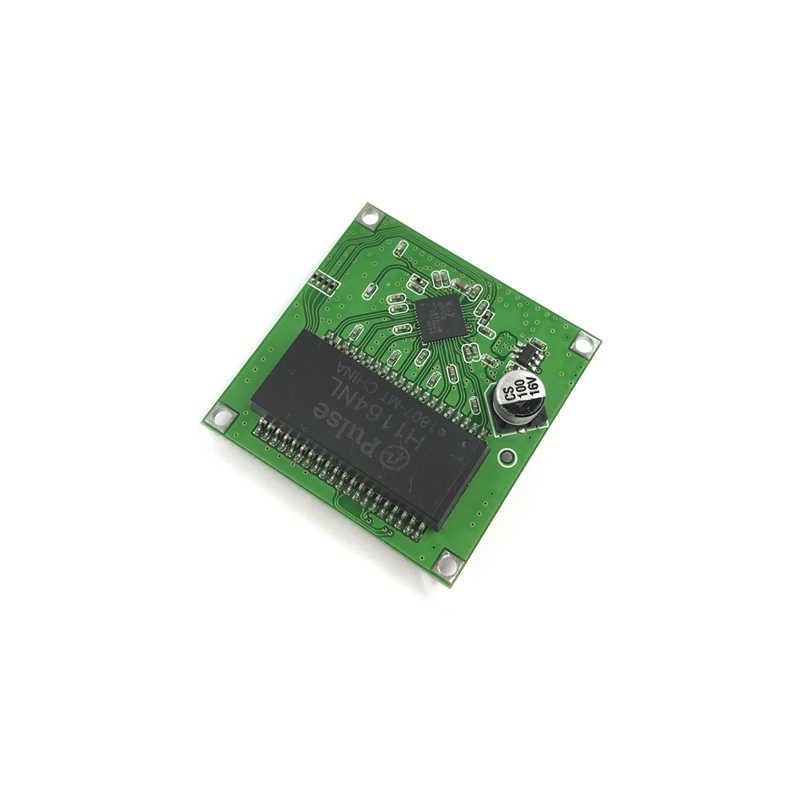 Mini PBCswitch para PBC OEM mini tamaño 3/4/5 puertos conmutadores de red placa Pcb mini ethernet módulo de conmutación de 10/100 Mbps