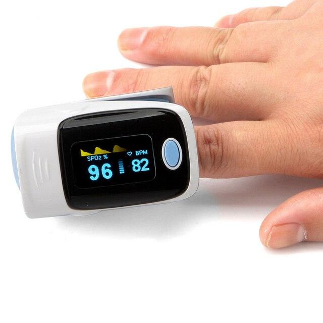 OLED Brand Oximeter Finger Oximetro De Pulso de dedo Pulsioximetro tensiometro Digital Pulse Spo2 FDA medical 4