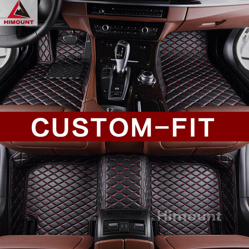 Custom made car floor mats for Audi A1 8X S1 A3 S3 RS3 8P 8V A6 Q3 Q5 Q7 car-styling rugs carpet anti-slip full protection liner