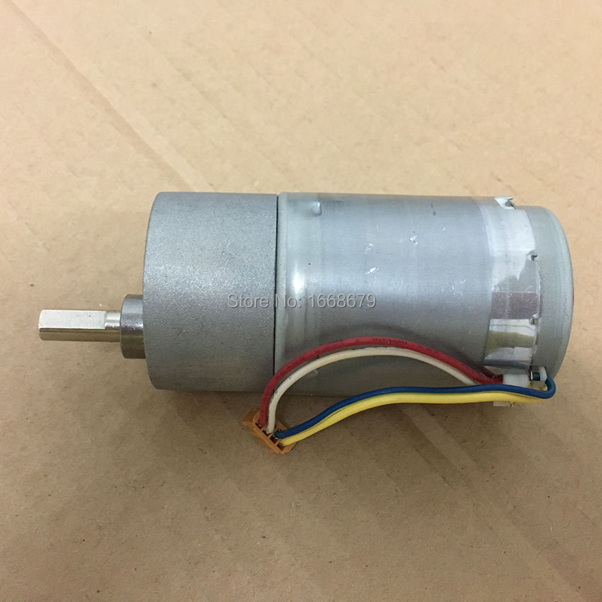 12V DC Gear Electric Encoder Motor 60RPM 37MM High Torque Powerful for DIY Engine Toys Arduino 2pcs 12v 60 rpm 60rpm high torque gear box dc motor