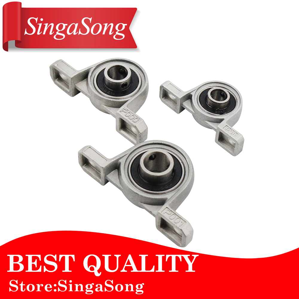 Free shipping 4pcs/lot KP08 8mm diameter zinc alloy bearing housing K08 P08 flange bearing with pillow block bearing цена 2017