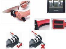 2015 Nuevo Profesional Afilador de cuchillos de Cocina Herramienta de Hoja Afilada Cuchillos Tijeras