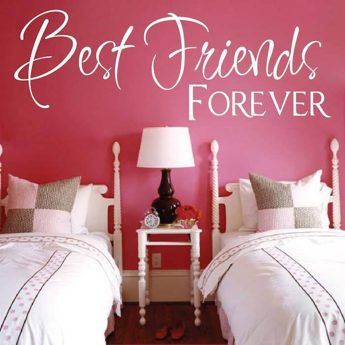 Best Friend Forever home decoration wall art decals living room ...