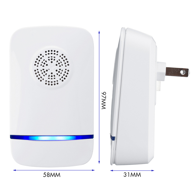 US/ EU / AU Plug Mosquito Killer Electronic Repeller Reject Rat Ultrasonic Insect Repellent Mouse Anti Rodent Bug Reject