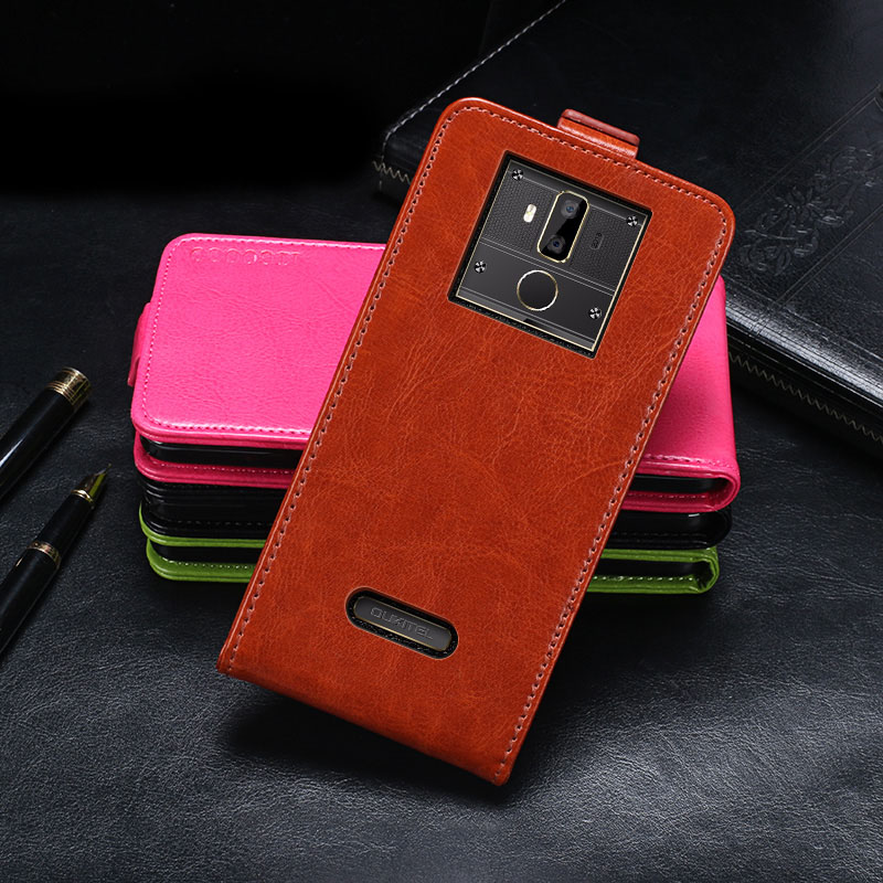 Oukitel K7 Case Cover Luxury Leather Flip Case For Oukitel K7 Protective Phone Case Back Cover 6.0