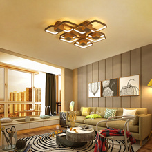 Modern Acrylic LED Ceiling Chandelier Living Room Overlap Large Deluxe Remote Control Restaurant Lighting