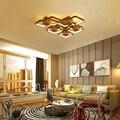 Moderne Acryl LED Decke Kronleuchter Wohnzimmer Überlappung Große Deluxe Fernbedienung Kronleuchter Wohnzimmer Restaurant Beleuchtung