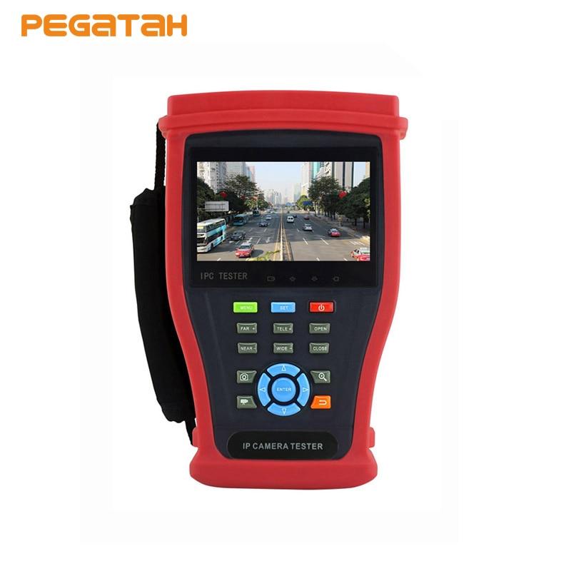 4.3 inch H.265 4K IP Tester 8MP TVI CVI 5MP AHD 1080P EX SDI HD SDI Camera CCTV Tester Monitor support 1080P CCTV Tester