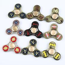 ล้างแค้นการ์ตูนนิ้วเคล็ดลับวงแหวนโลหะการ์ตูนแบทแมนซูเปอร์แมนX-MenออกแบบFidgetsมือเหยื่อของเล่น30ชิ้น/ล็อตDHLฟรี