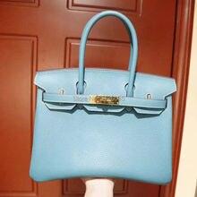 2017 women luxury brand runway cowhide skin handbags
