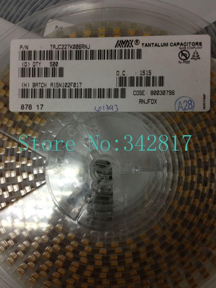 TAJC227K006R 6,3V NEU 10/% 220uF 10 x Tantalkondensator
