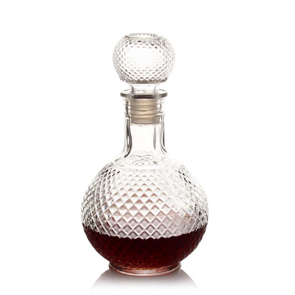 Luxus Glas Whisky Schnaps Wein Getränke Decanter 1000 ml Kristall ...