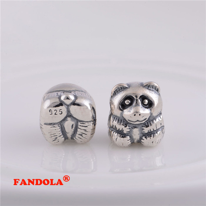 convient pandora bracelet charms panda argent perles pour des bijoux faisant 100 925 sterling. Black Bedroom Furniture Sets. Home Design Ideas
