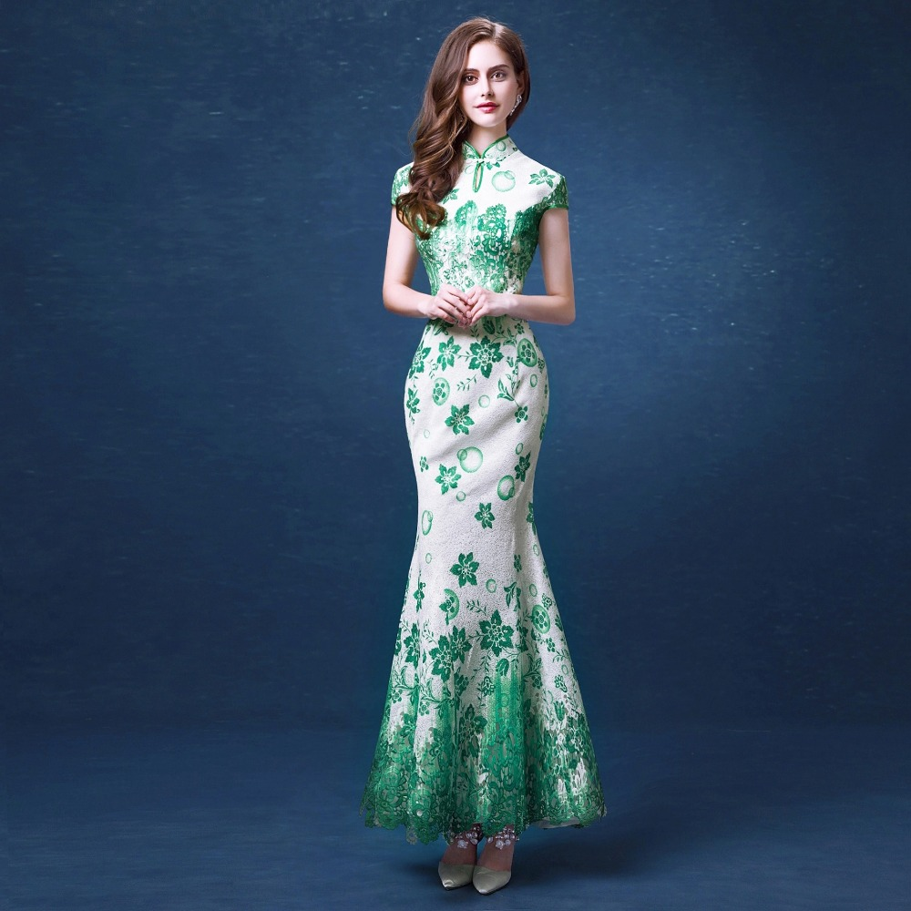 Online buy wholesale beautiful cheongsam from china for Chinese wedding dresses online
