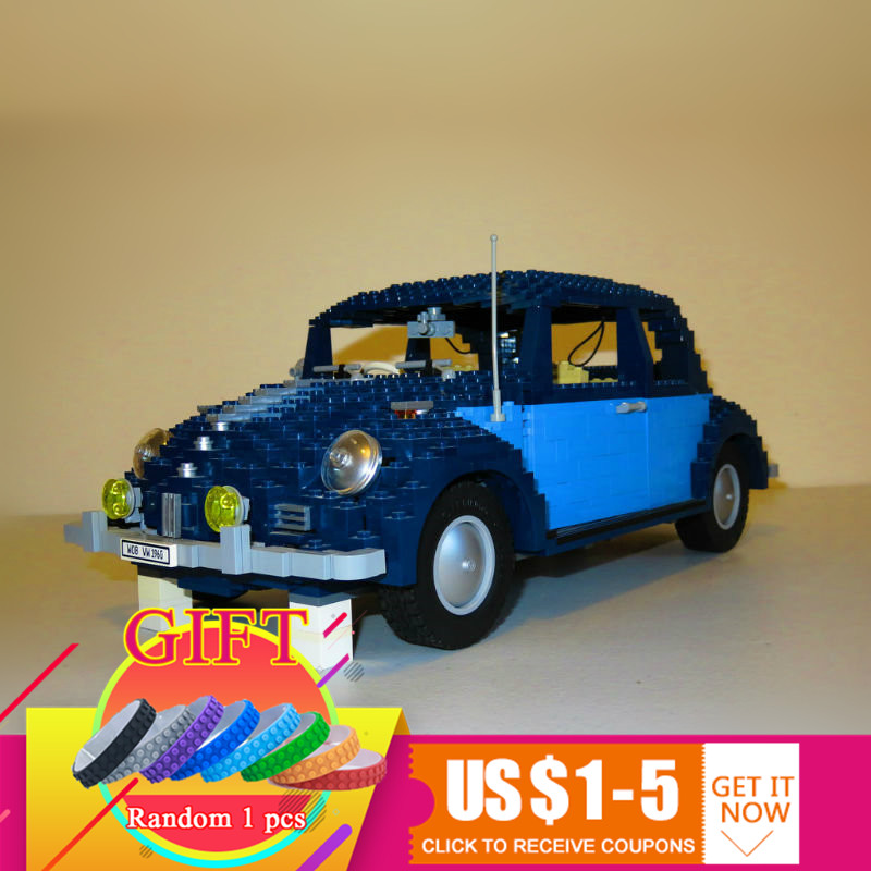 21014 1707Pcs Technical Series The Ultimate Beetle Set Compatible with 10187 children Educational Building Blocks Toys lepin 21014 the ultimate beetle building bricks blocks toys for children boys game model car gift compatible with bela 10187