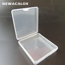 Mini Transparent Tool Box Electronic Plastic Parts Container Toolbox Casket SMD SMT Screw Fish Hook Component Storage Box