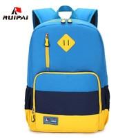 RUIPAI 2017 Nylon Children School Bags Waterproof Orthopedic Children Backpacks Kindergarten Girls Kids Baby Primary Schoolbags