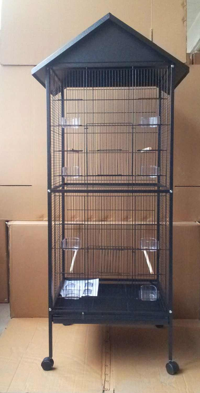 High Quality Large Roof Top Small Bird Cage Pigeon Cage Parrot Cage Bird Cage B591X