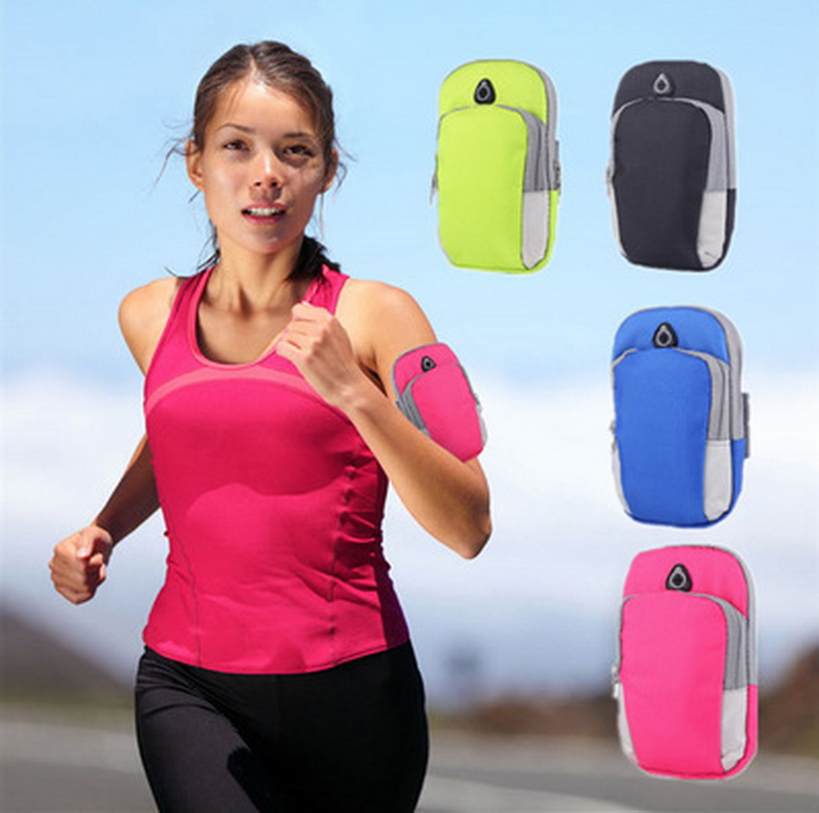 Relojes Y Joyas Dutiful By Dhl 100pcs New Sports Bag Jogging Gym Armband Arm Band Holder Bags For Mobile Phones Less 6 Inch Keys Pack With Headset Hole