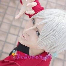 [IMCOSER] Haikyuu!! Lev Haiba Heat resistance fibre Volleyball short auburn anime cosplay wig Free shipping+cap