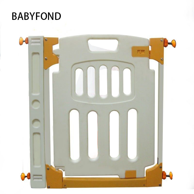 Intelligent Rabbit Children Safety Game Fence Fence Door Guardrail Infant Guardrail Stairs Pet Isolation Thickening Mail