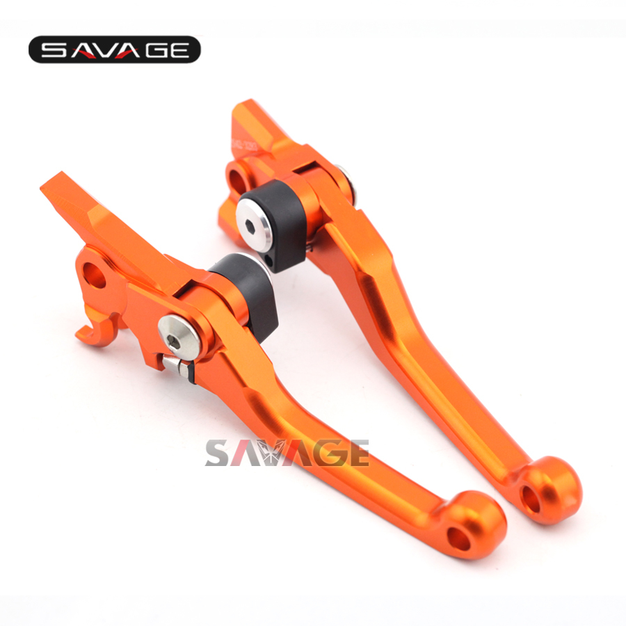 For KTM 250 300 350 400 450 EXC EXC-F XC SX SX-F XC-F XC-W EXC-R SMR Motorcycle Dirt Bike Off-road CNC Pivot Brake Clutch Lever orange cnc billet factory oil filter cover for ktm sx exc xc f xcf w 250 400 450 520 525 540 950 990