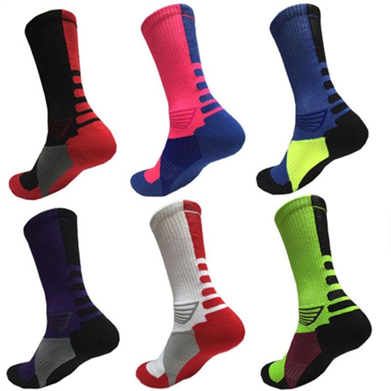 Men's socks Professional Elite Stockings Mens Thicker Towels Basketball Socks Sports Socks Football socks for Outdoor C amping