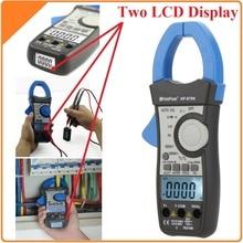 HoldPeak HP-870N Авто Диапазон AC DC Цифровой Клещи Мультиметр Pinza Amperimetrica Amperimetro True RMS Частоты Подсветки