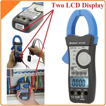 HoldPeak HP-870N Auto Range AC/DC Digital Clamp Meter Multímetro Pinza Amperimetrica Amperimetro True RMS Frecuencia Retroiluminación