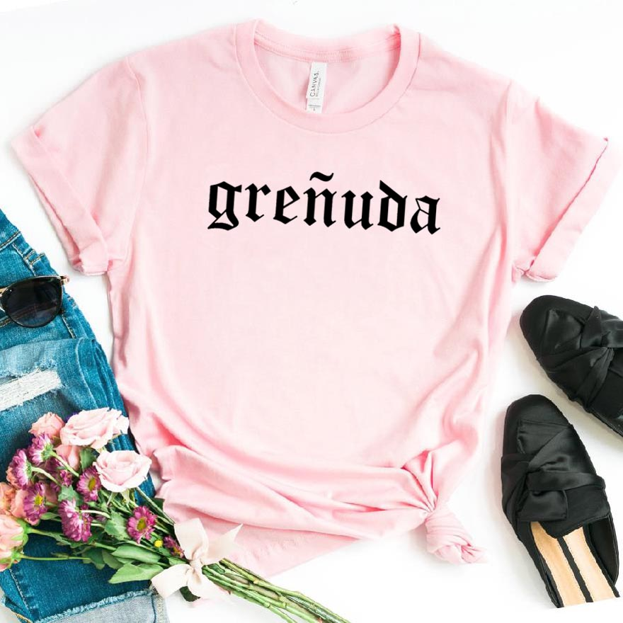 Grenuda Women tshirt Cotton Casual Funny   t     shirt   For Lady Girl Top Tee Hipster Ins Drop Ship NA-123