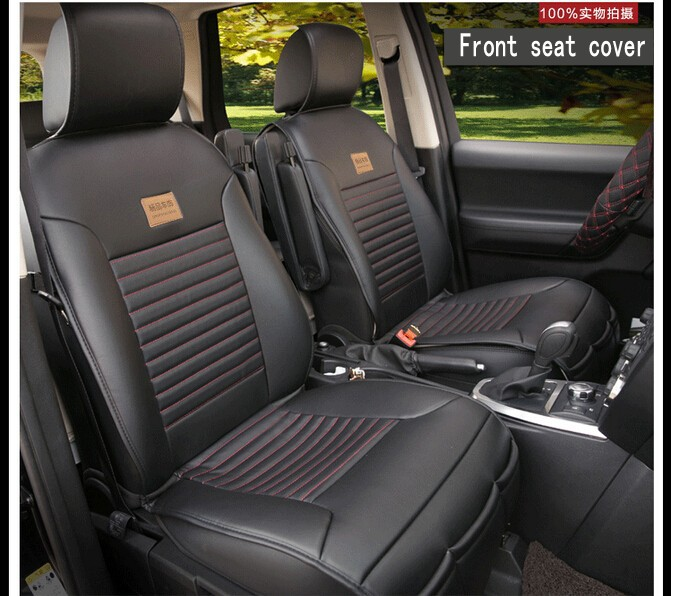 car seat covers for 5 seats universal auto soft pu leather car seat protector styling top. Black Bedroom Furniture Sets. Home Design Ideas