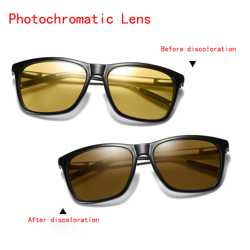 1ef84e890a ZJHZQZ Polarized Photochromic Night Vision Sunglasses Outdoor Driving  Fishing Transition Chameleon Lens