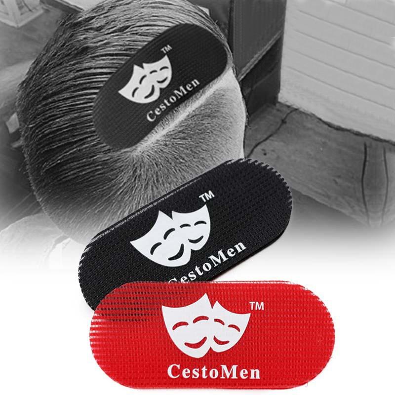 2pcs Black Red Hair Care Styling Barber Accessories Hair Gripper Tools Men's Hair Holder Hairpins Hair Dryer Haircut Cutting Set