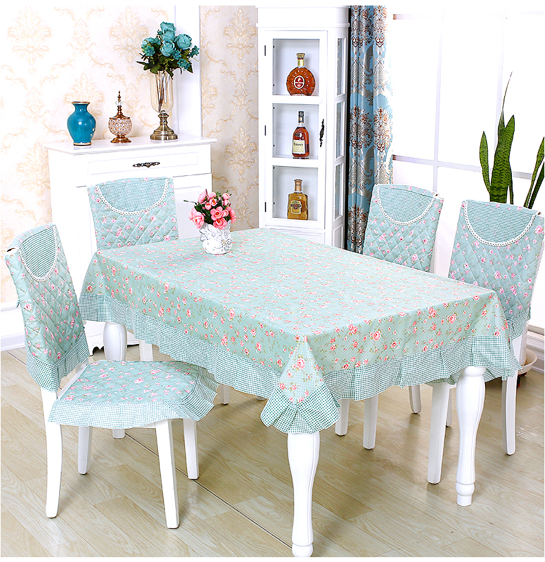 Considerate Natural Quality Fashion Modern Table Cloth Dining Table Cloth Table Cloth Chair Cover Set Cushion Chair Cover Cloth S Home Textile Table & Sofa Linens