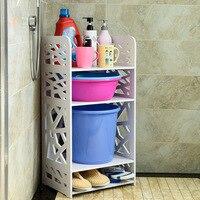 Бытовая ванная комната стойки Ванная комната умывальник угловая твердая угловая полка Творческий Туалет воды куб обувь WF4011341
