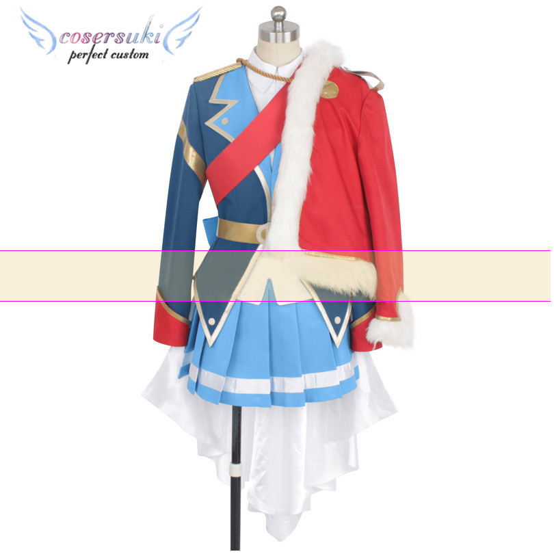 Revue Starlight Junna Hoshimi Cosplay Costume Stage Performance Clothes , Perfect Custom for You !