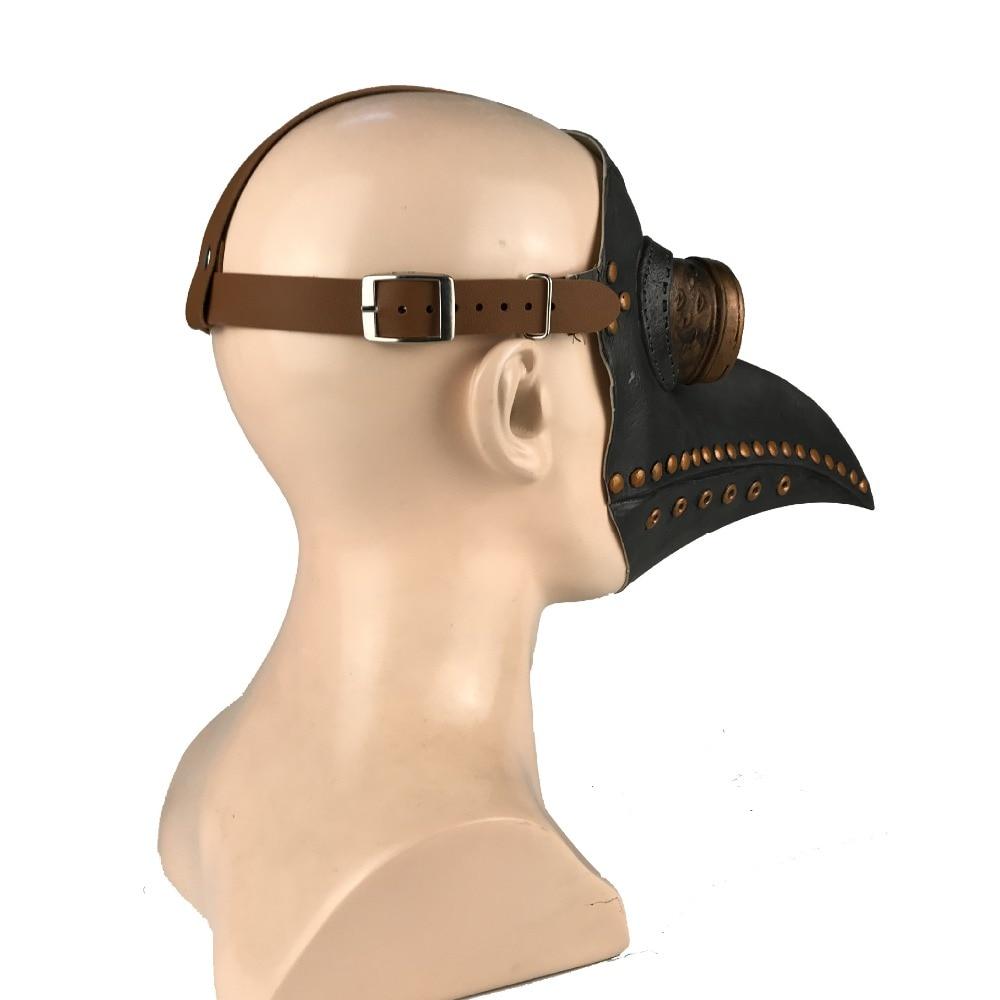 HTB1ue1HaRGw3KVjSZFDq6xWEpXaK - หน้ากากกาฬโรค ยุคกลาง ความตายสีดำ หน้ากากคอสเพย์ผู้ใหญ่ Steampunk Plague Doctor Bird