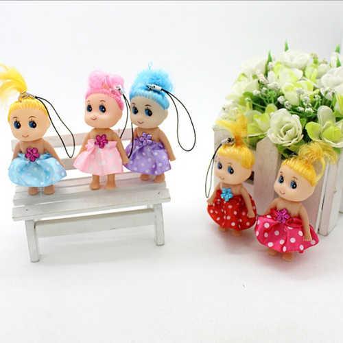 1 шт. милые мини Ddung Кукла для девочек Confused куклы брелок телефон подвеска Украшение высокое качество