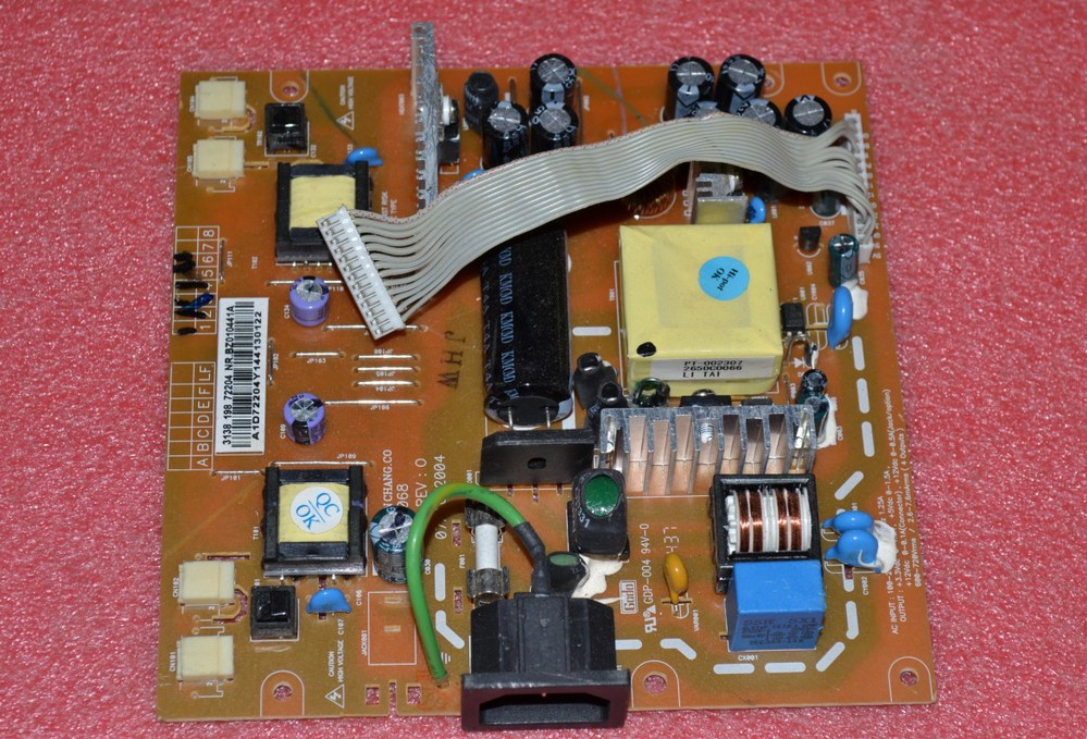 Free Shipping> 170S5 170B5 170C5 170P5 190x5 170X5 Power Board AI-0068-Original 100% Tested Working free shipping 2407fpw 2407wfp power supply board 4h l2k02 a01 24 inch original 100% tested working