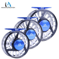 Maximumcatch Fly Fishing Reel 1/3,3/4,5/6,7/8,9/11WT Fly Reel Machined Aluminium Micro Adjusting Drag Fly Fishing Reel