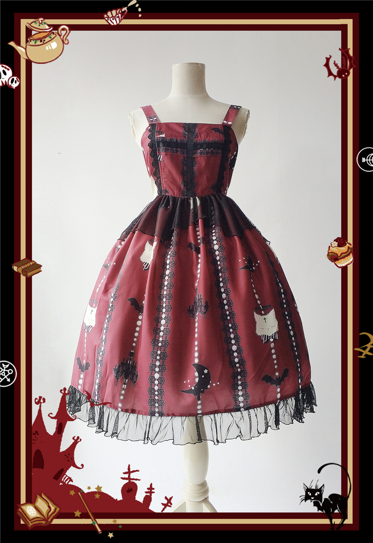 Здесь продается  Gothic Lolita Japanesse Sleeveless Sweet Night Party Dress Woman Cosplay dress+socks  Одежда и аксессуары