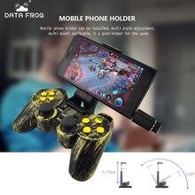 Data Frog inalámbrico Gamepads controlador 2,4g con OTG para PC Juegos Joystick para Android TV Box para Xiao mi 6 rojo mi nota 5