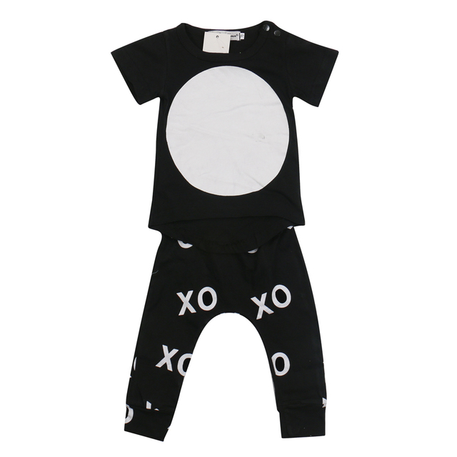 2018 New Style Baby Boy Clothes Short Sleeve Cool Baby Rompers Baby